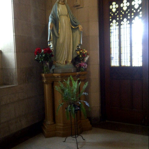 Photo taken at St. Dominic's Catholic Church by Mayra N. on 10/1/2012