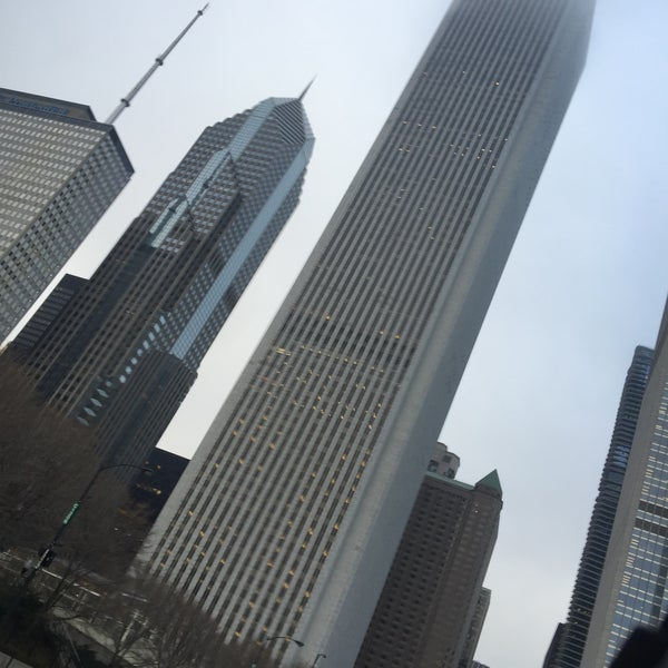 Photo taken at Aon Center by Dave S. on 12/22/2015