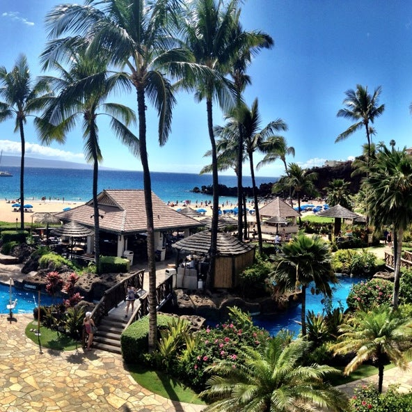 Photo taken at Sheraton Maui Resort & Spa by Vanessa G. on 9/3/2013