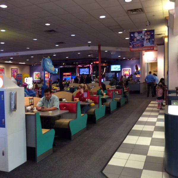 chuck e cheese reservation