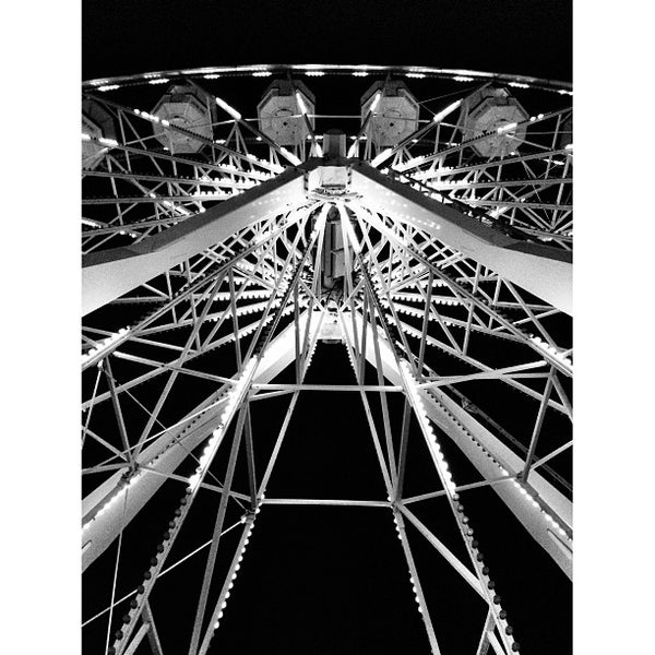 Photo taken at Ferris Wheel At The Pike by Abdullah A. on 8/25/2013
