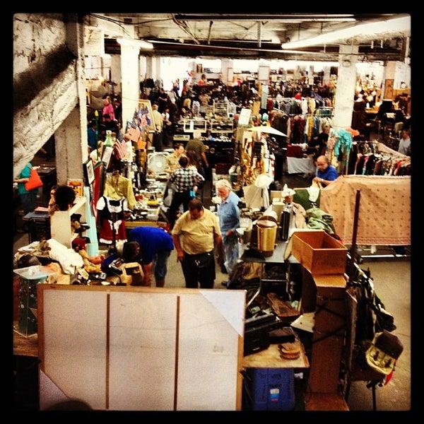 The Garage Antique Flea Market (Now Closed)