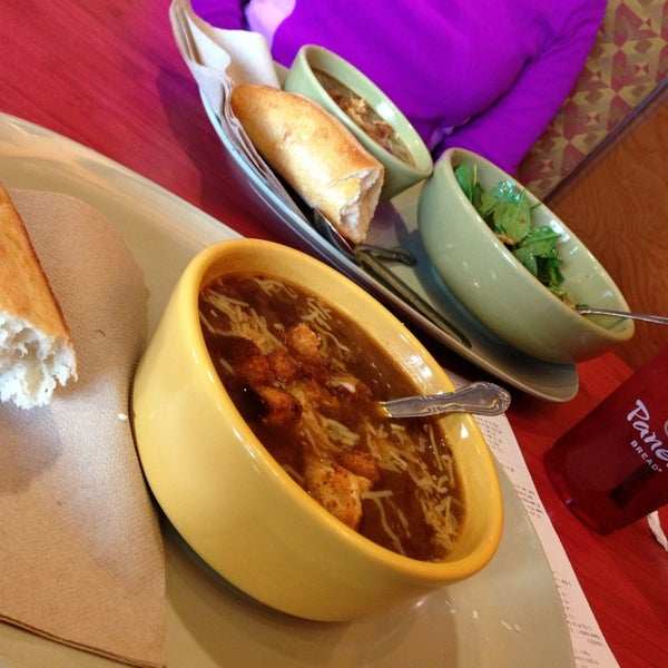 Photo taken at Panera Bread by Alan B. on 1/20/2013