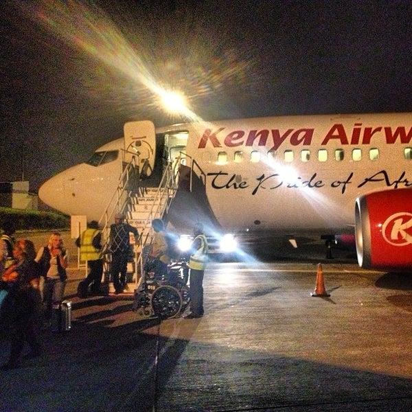 Photo taken at Jomo Kenyatta International Airport (NBO) by Faheem K. on 4/17/2013