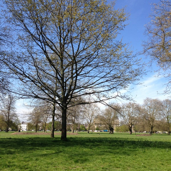 Photo taken at Clapham Common by Grzegorz W. on 5/3/2013