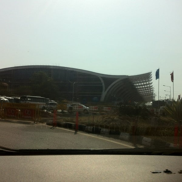 Photo taken at Dabolim Goa International Airport (GOI) by Виктор П. on 2/24/2013