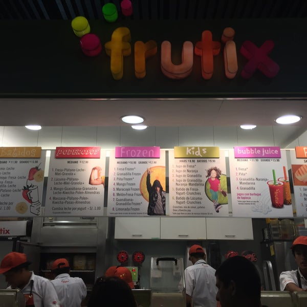 Photo taken at Frutix by Cesar W. on 5/10/2015