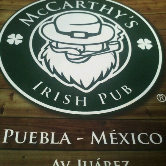 McCarthy's Irish Pub - Irish Pub in Puebla