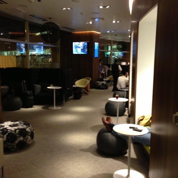 Photo taken at The Centurion Lounge by American Express by Tom B. on 4/12/2013