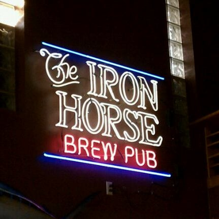 Photo taken at Iron Horse Brew Pub by Eric L. on 9/7/2011