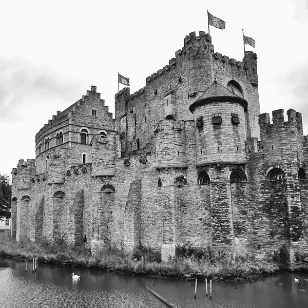 Photo taken at Gravensteen / Castle of the Counts by Alberto L. on 2/24/2013
