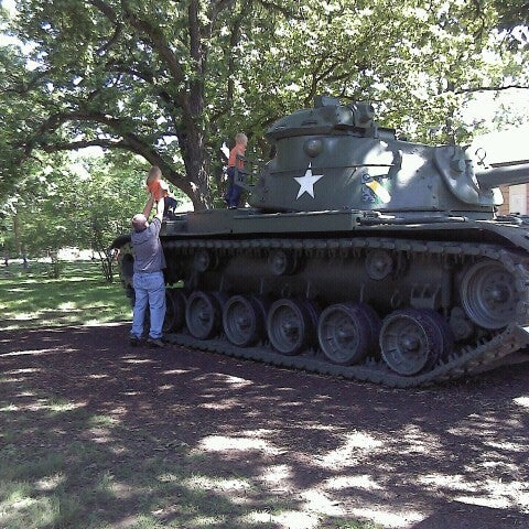 Photo taken at Cantigny Park by Amy D. on 6/7/2013