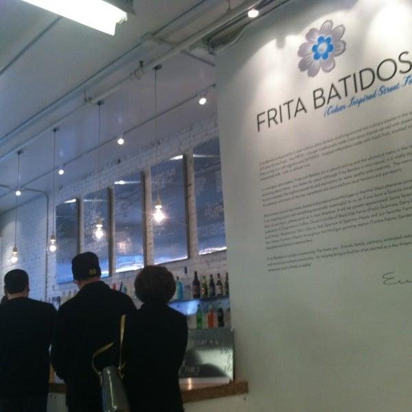 Photo taken at Frita Batidos by Nick S. on 2/3/2013