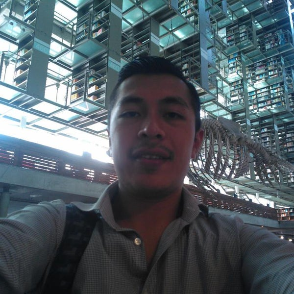Photo taken at Biblioteca Vasconcelos by Miguel Angel V. on 3/5/2014