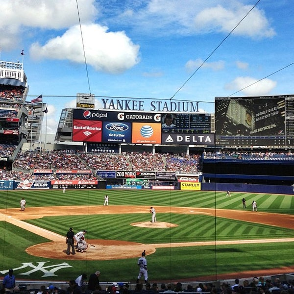 Photo taken at Yankee Stadium by Paul K. on 9/21/2013