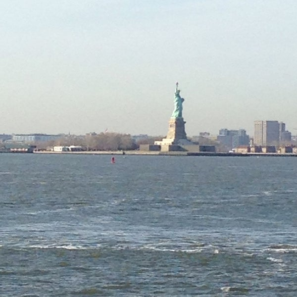 Photo taken at Staten Island Ferry Boat - Guy V. Molinari by Foranna J. on 4/21/2014