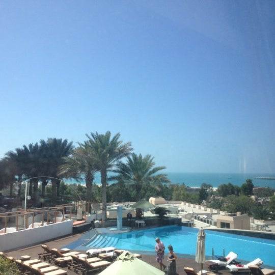 Photo taken at Habtoor Grand Beach Resort & Spa by Turki A. on 3/9/2013