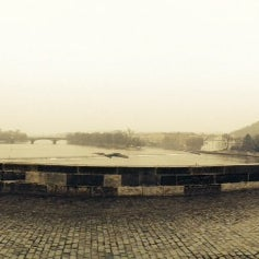 Photo taken at Karlův most | Charles Bridge by Robin A. on 3/15/2014