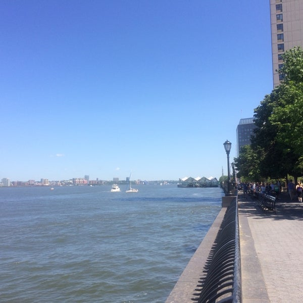 Photo taken at Battery Park City Esplanade by Eugene K. on 6/7/2014