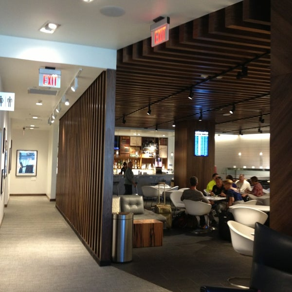 Photo taken at The Centurion Lounge by American Express by Sharon C. on 6/21/2013