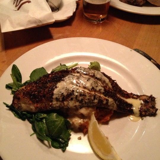 Photo taken at JoJo Bistro & Wine Bar by Joel C. on 11/20/2012