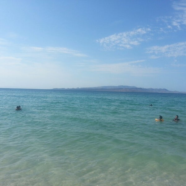 Photo taken at Playa Pichilingue by Ernesto O. on 8/19/2013