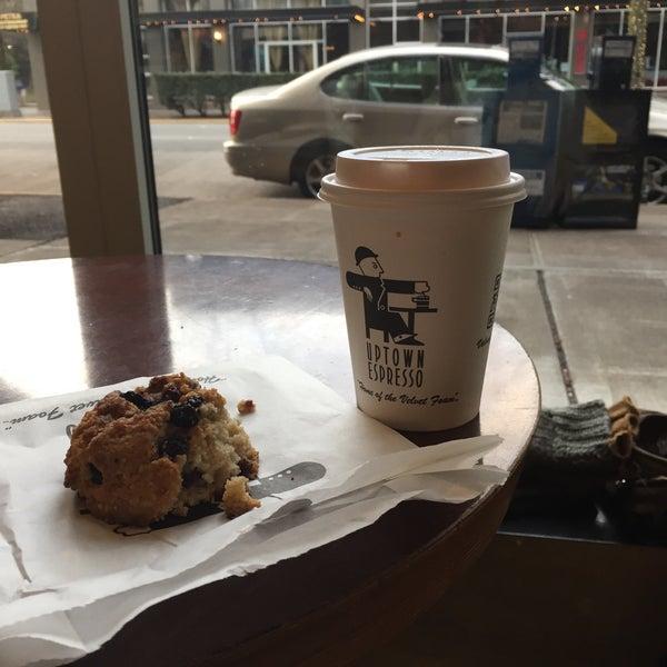 Photo taken at Uptown Espresso by Desert .. on 11/23/2016
