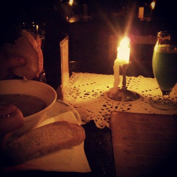 Zielony gaj & krem brokulowy & grzanki rokpol z ananasem ;-)