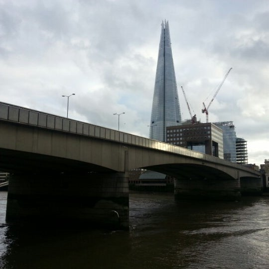 Photo taken at London Bridge by chris t. on 11/9/2012