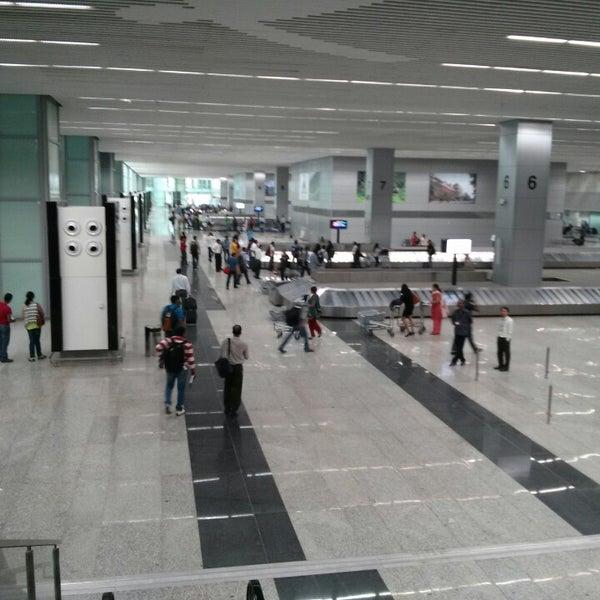 Photo taken at Netaji Subhash Chandra Bose International Airport (CCU) by Aniket P. on 3/30/2013