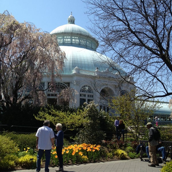 Photo taken at Enid A. Haupt Conservatory by Steve M. on 4/27/2013
