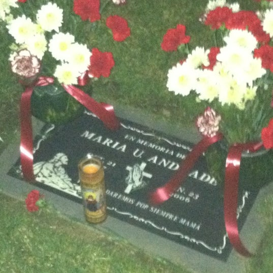 Photo taken at Oakdale Memorial Park and Mortuary by King E. on 11/3/2012