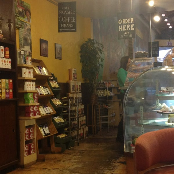 Photo taken at Spasso Coffeeshop by Cat D. on 1/23/2013