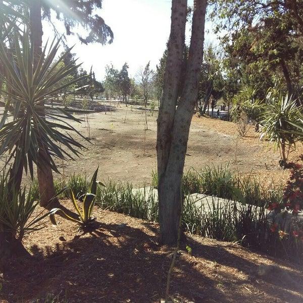 Photo taken at Parque Ecologico Huayamilpas by Maripaz G. on 3/11/2016