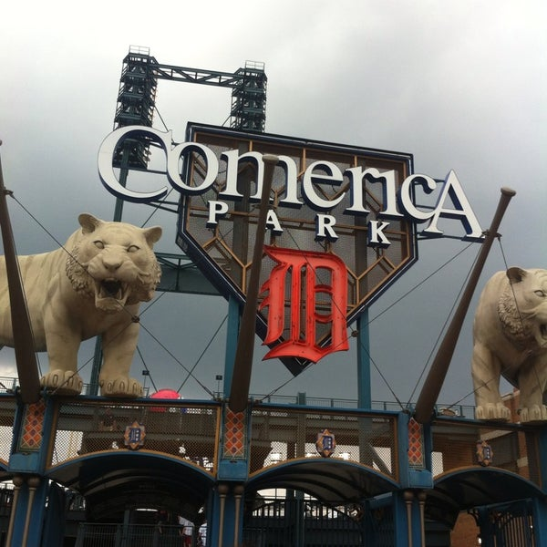 Photo taken at Comerica Park by Kaila H. on 6/25/2013