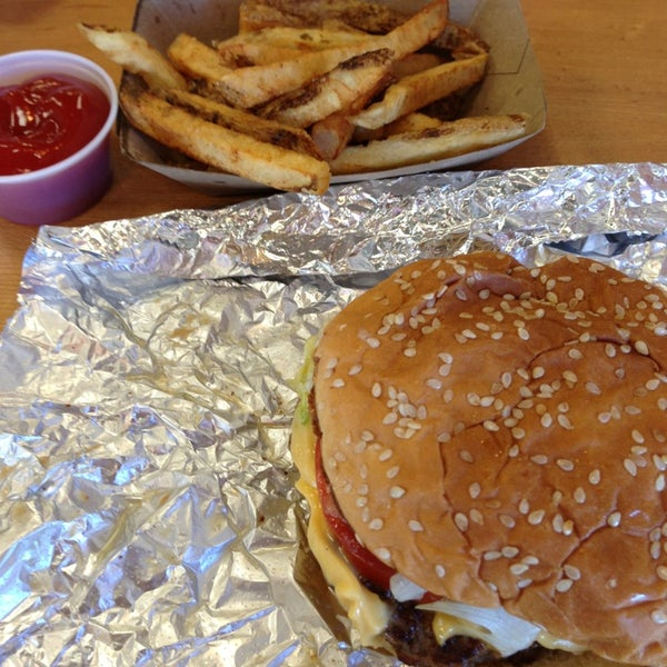 Photo taken at Five Guys by Casper H. on 3/2/2013