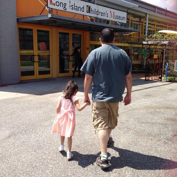 Photo taken at Long Island Children's Museum by Miz A. on 5/18/2014