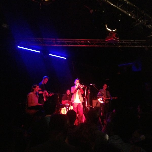 Photo taken at Hoxton Square Bar & Kitchen by Hannah S. on 7/19/2013