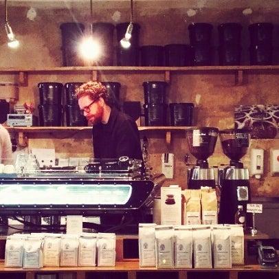Photo taken at Bonanza Coffee Heroes by Bjoern W. S. on 11/29/2012