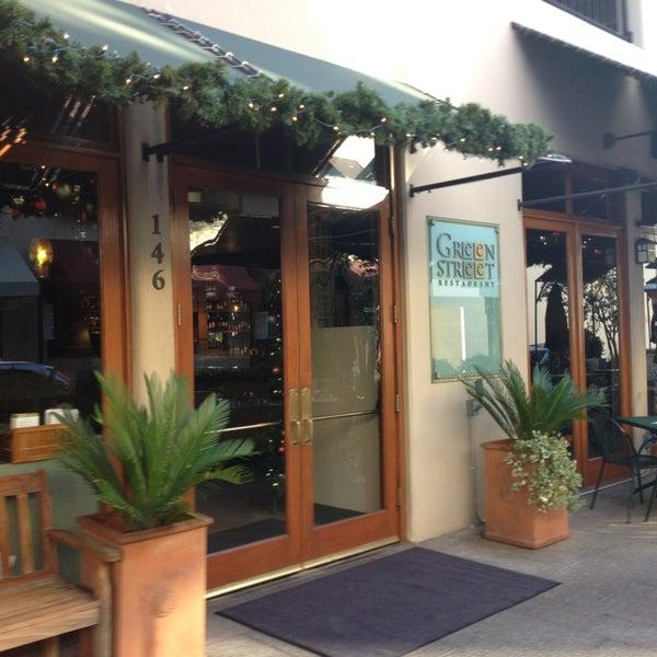Green Street Cafe Pasadena