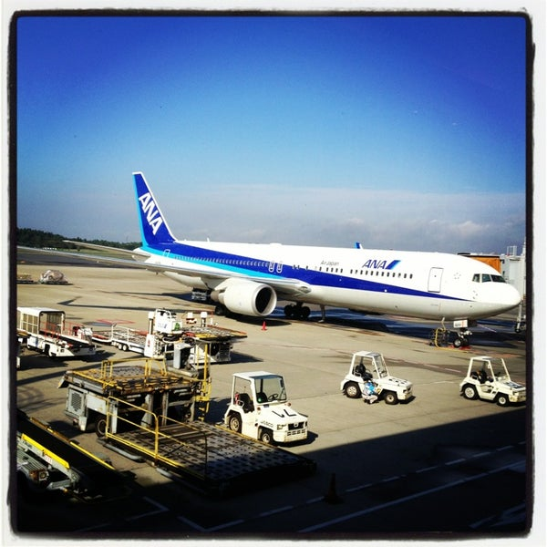 Photo taken at Narita International Airport (NRT) by Kenji H. on 10/2/2013