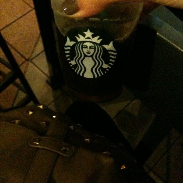 Photo taken at Starbucks by Melissa P. on 1/20/2013