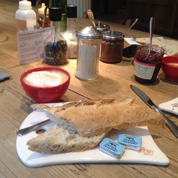 Photo taken at Le Pain Quotidien by Giorgio S. on 3/14/2014