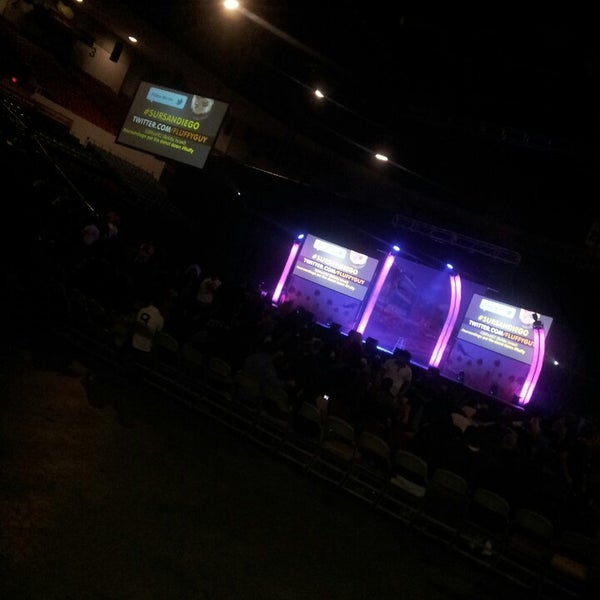 Photo taken at Valley View Casino Center by Victor B. on 4/27/2013