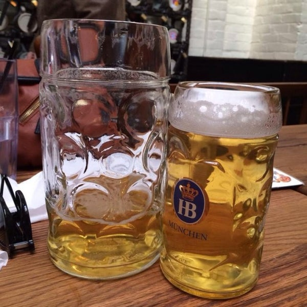 Photo taken at Hofbräuhaus Newport by Ben K. on 12/7/2013