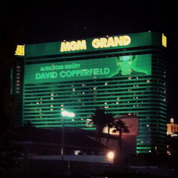 Photo taken at MGM Grand Hotel & Casino by Maria S. on 12/21/2012