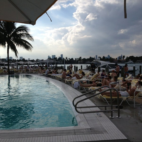 Photo taken at The Standard Spa, Miami Beach by Stephanie A. on 1/20/2013