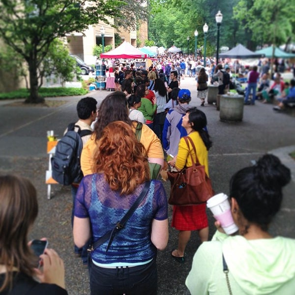Photo taken at Portland Farmer's Market at PSU by Stephanie S. on 7/6/2013