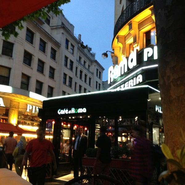 Cafe Di Roma Paris Champs Elysees