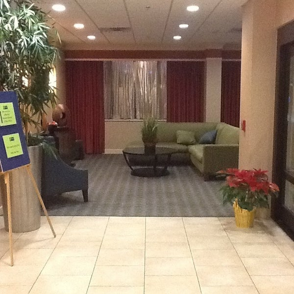 Photo taken at Holiday Inn Express by Stacey B. on 1/5/2013